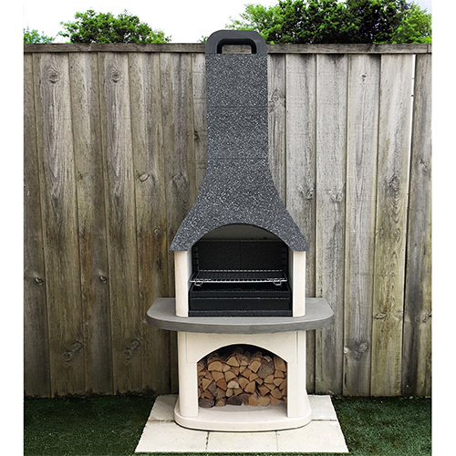 Masonry Sorrento Barbecue with or without side table