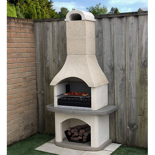 Masonry Verona Barbecue with or without side table